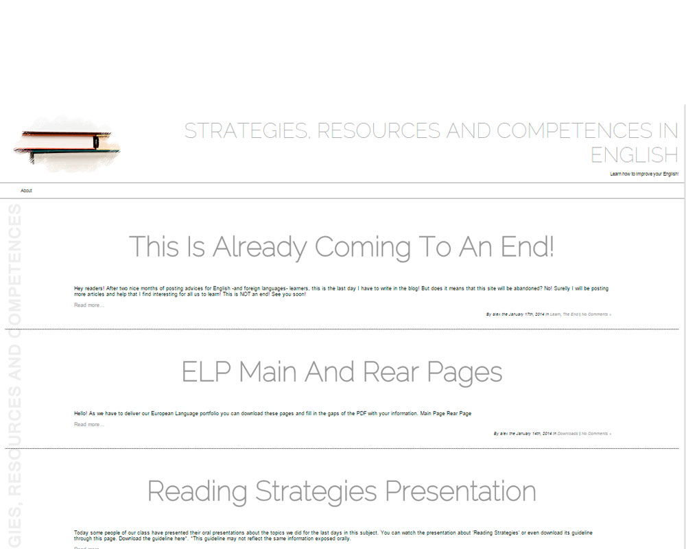 ANGLÈS.BL.EE– Strategies, Resources and Competences in English